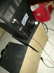 Som Sansung Sound Blast Mini system