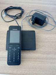 Telefone sem fio panasonic kx-prw110lb