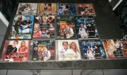 Cds e DVD banda calypso