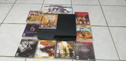 """PS3 + 12 jogos + TV 32"""""""