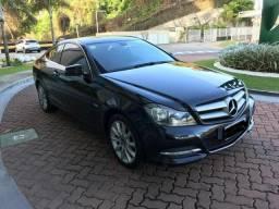 Mercedes c 180 2012 coupé valor 59.900 oportunidade