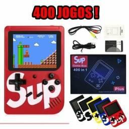 Mini Game Retro portátil 400 Jogos