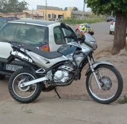 Honda nx Falcon prata