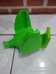Suporte para bobina de plástico