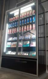 TORRO NOVO Geladeira Expositora Refrigerada 1,25m 2 Portas c/ Garantia