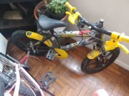 Bicicleta menino Batman