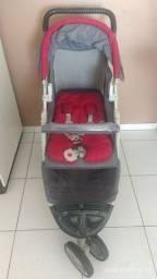 Carrinho com bebê conforto galzerano