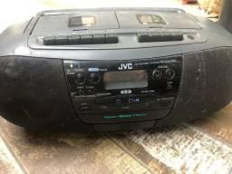 Radio Gravador Jvc Rc-qw33