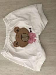 Shorts bebê