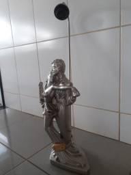 Abajour retrô escultura