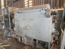 Fornalha/Queimador Biomassa Lippel Grelha Movel 500.000 Kcal/h c Alimentador
