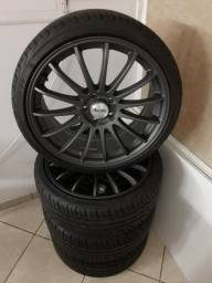 Rodas novas 19 5x112 com pneus novos