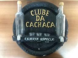 Decoração Clube da Cachaça