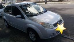 Vendo Fiesta Sedan 2008 Flex 1.6 cor Prata R$16.000