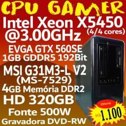 CPu Gamer GTX560SE 1GB, (Não roda jogo pesado)