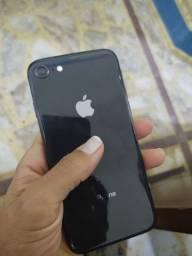 Iphone 8 preto 64gb (12x)