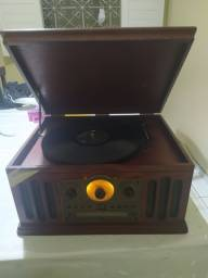 Vitrola Raveo, radiola disco vinil