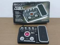 Pedaleira Zoom G2.1u