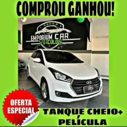 TANQUE CHEIO SO NA EMPORIUM CAR!!! HYUNDAI HB20 1.0 ANO 2017 COM MIL DE ENTRADA