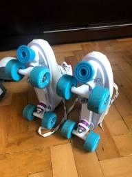 Patins 4 rodas adulto