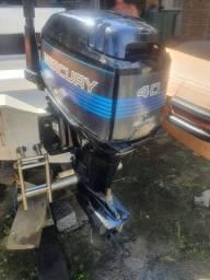 Flexboat SR15 com Mercury 40hp sea pro