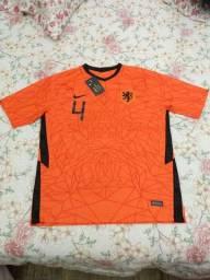 Camisa Seleção Holanda Oficial G