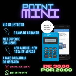 Black friday maquininha de cartao point mini