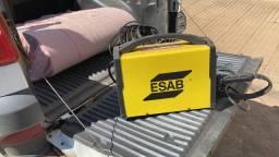 Máquina de Corte de Plasma Handyplasma 45I 45A 220V 24mm tocha 60i ESAB