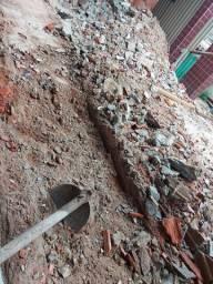 Concreto BRUTO de tijolos antigos