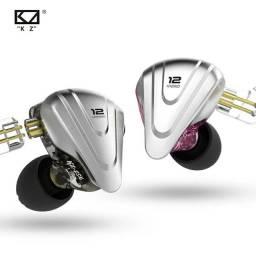 KZ ZSX 12 Drives fone ideal para quem estar no palco, conforto e alta qualidade !