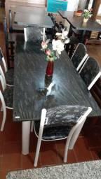 Jogo mesa 6 cadeiras