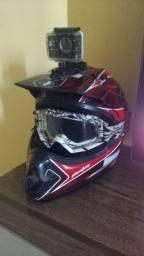 Vendo/troco capacete IMS