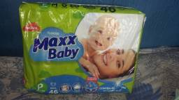Fralda maxx baby tam:P 46 unid