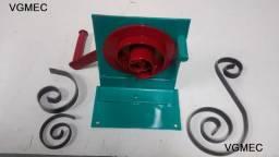 Espiral, Dobradeira para Espiral, Volutas, Serralheria Artística