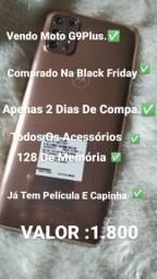 Vendo MotoG9 Plus Comprado Na Black
