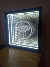 Luminária elementum led infinito... 150