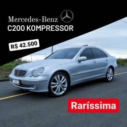 Título do anúncio: C200 Kompressor Avantgarde ( RARÍSSIMA )
