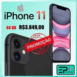 iPhone 11 Apple 64GB Preto, Tela de 6,1?, Câmera Dupla de 12MP, iOS