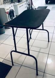 Mesa para secar cachorro