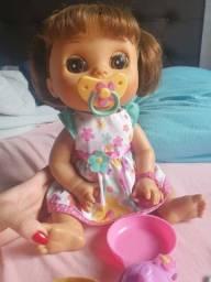 Boneca baby Alive hora de comer