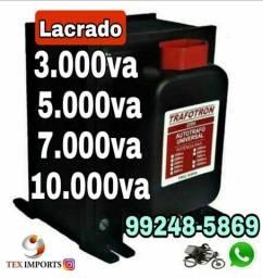 Transformador 3.000va-5.000va-7.000va Lacrados
