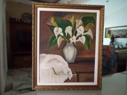 Quadro em Pintura a óleo assinado Marcia Eliza