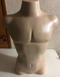Manequim  Meio Corpo Busto Masculino