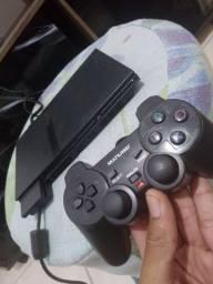 PS2 - Uma Manete + 9 Jogos