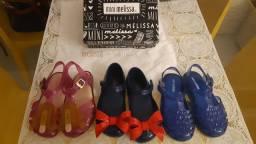 Sandálias Mini Melissas