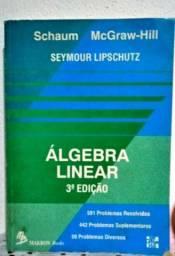 Álgebra Linear 3ª edição - Schaum e McGraw-Hill