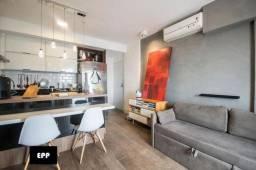 Título do anúncio: Apartamento com 1 dormitório, 44 m² - venda por R$ 750.000,00 ou aluguel por R$ 3.500,00/m