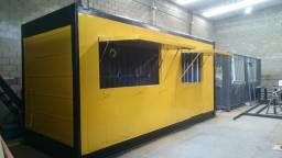 Hamburgueria Container Reefer 6 mts