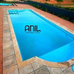 Título do anúncio: JA - Compre piscina 10 metros de comp. direto da fábrica