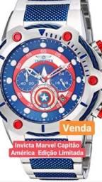Relógio Invicta capitão América - edição limitada